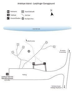 Antelope Island State Park (Ladyfinger Campground)