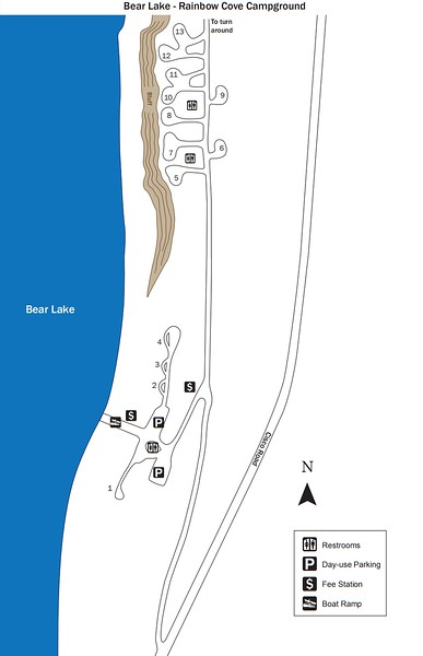 Bear Lake State Park (Rainbow Cove Campground)
