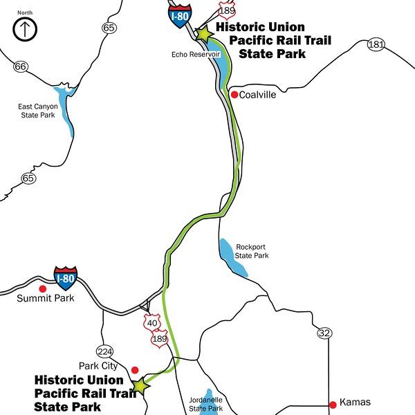 Historic Union Pacific Rail Trail State Park