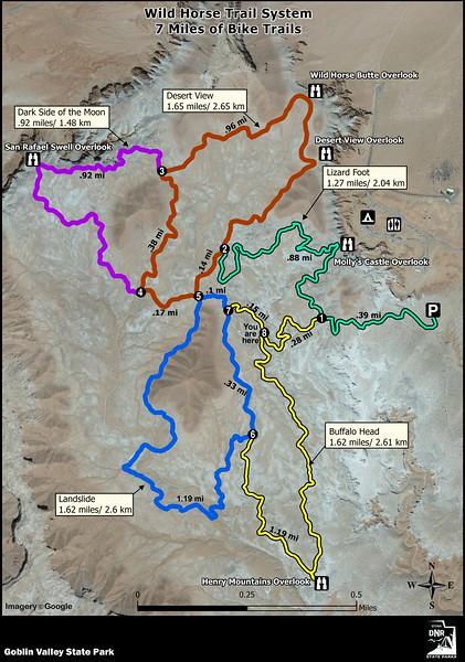 Goblin Valley State Park (Wild Horse Trail System)