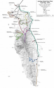 Antelope Island State Park (Trail Map)