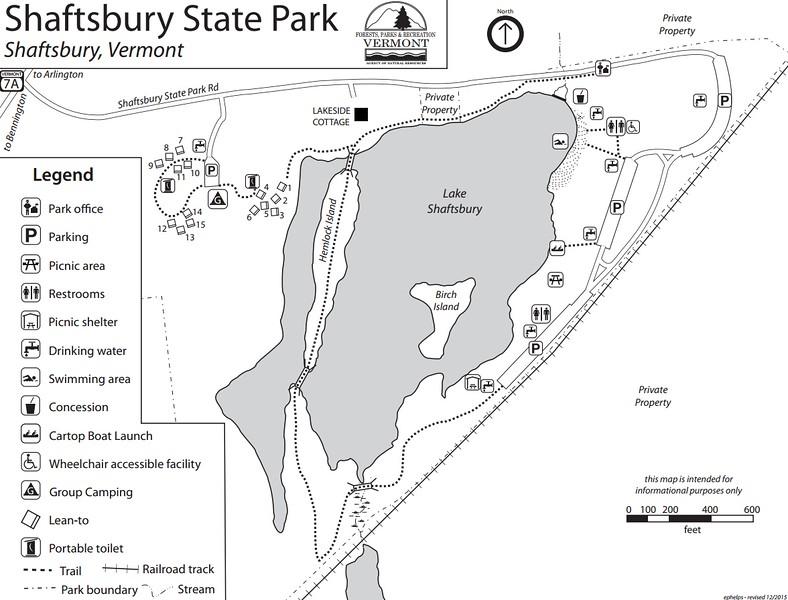 Lake Shaftsbury State Park
