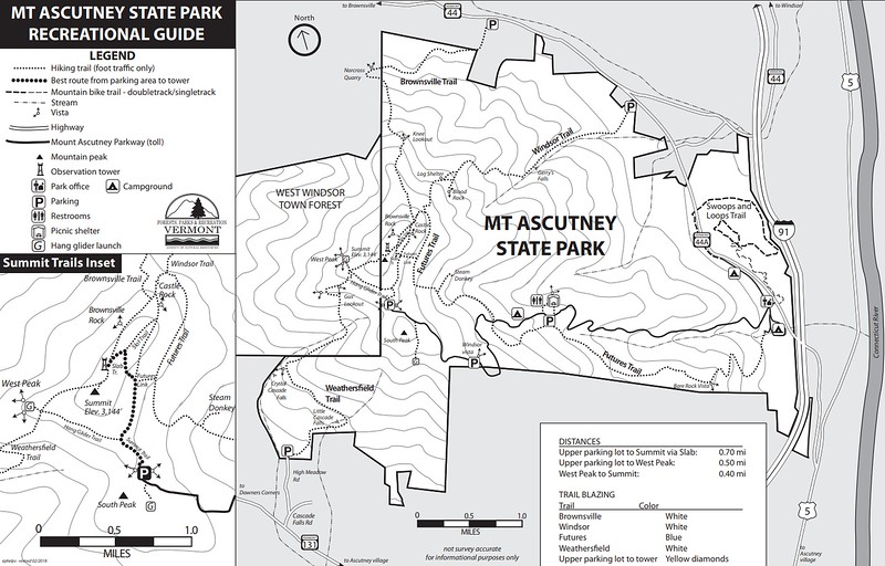 Mount Ascutney State Park (Trails)