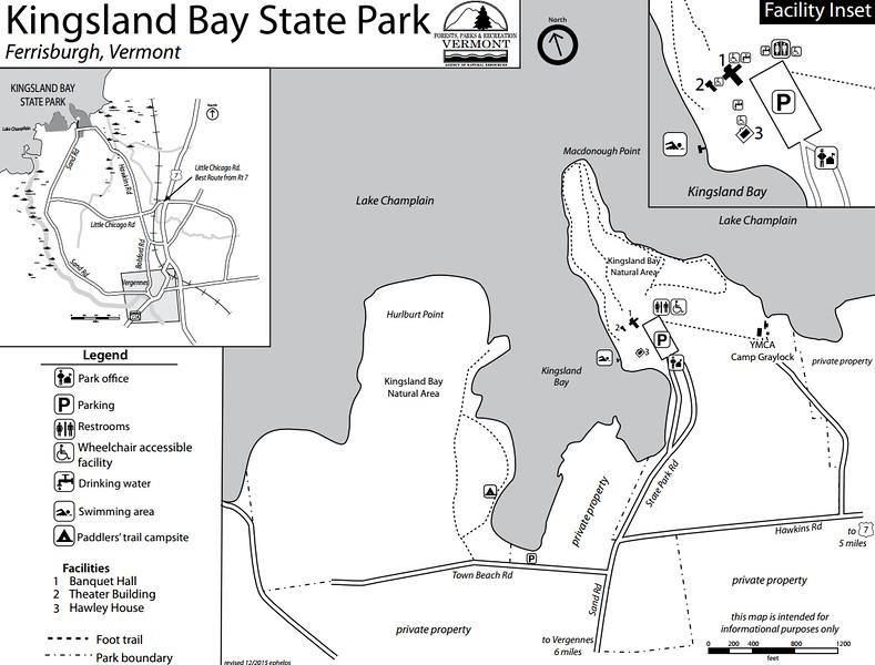 Kingsland Bay State Park