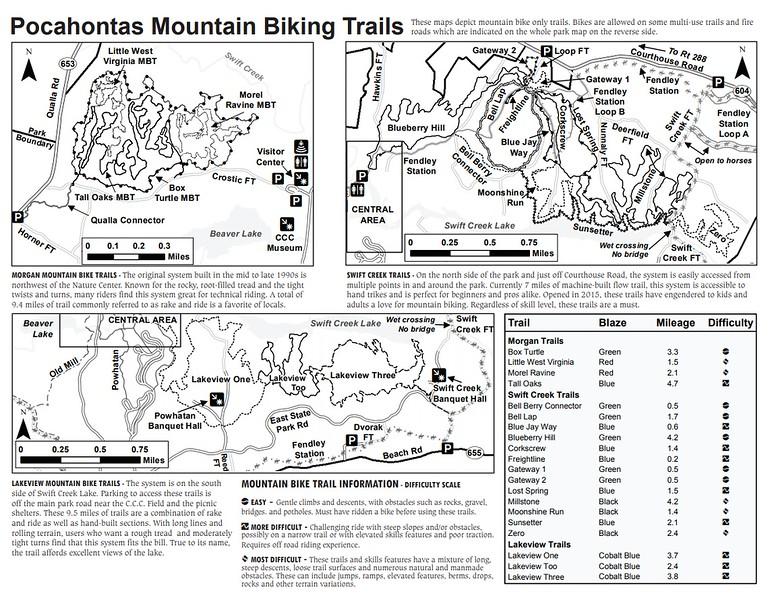 Pocahontas State Park (Mountain Biking Trails)