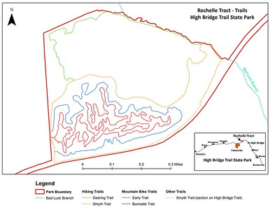 High Bridge Trail State Park (Rochelle Tract Trails)