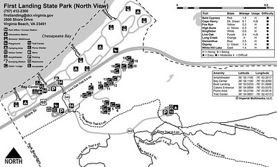 First Landing State Park (Facilities Map)