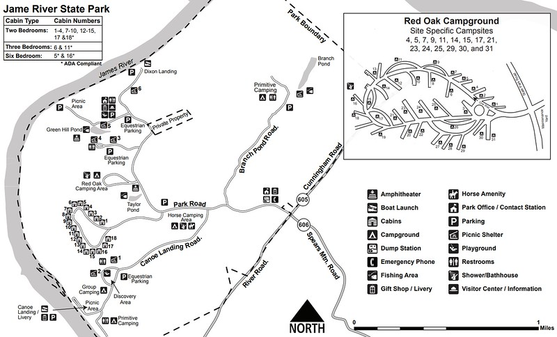 James River State Park (Facilities Map)