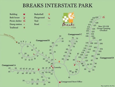 Breaks Interstate Park (Campground Maps)