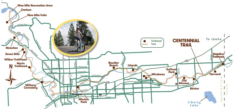 Centennial State Park Trail