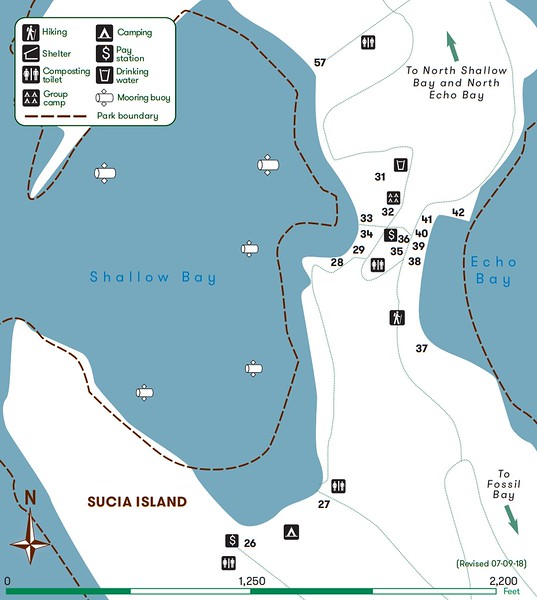 Sucia Island Marine State Park (Echo Bay-Shallow Bay Campground)