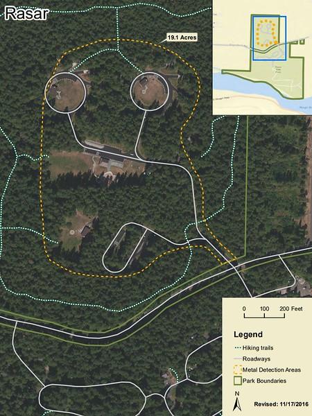 Rasar State Park (Metal Detection Areas)