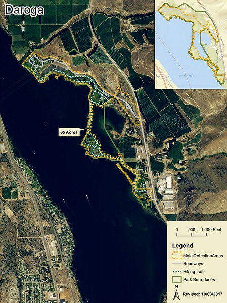 Daroga State Park (Metal Detection Areas)