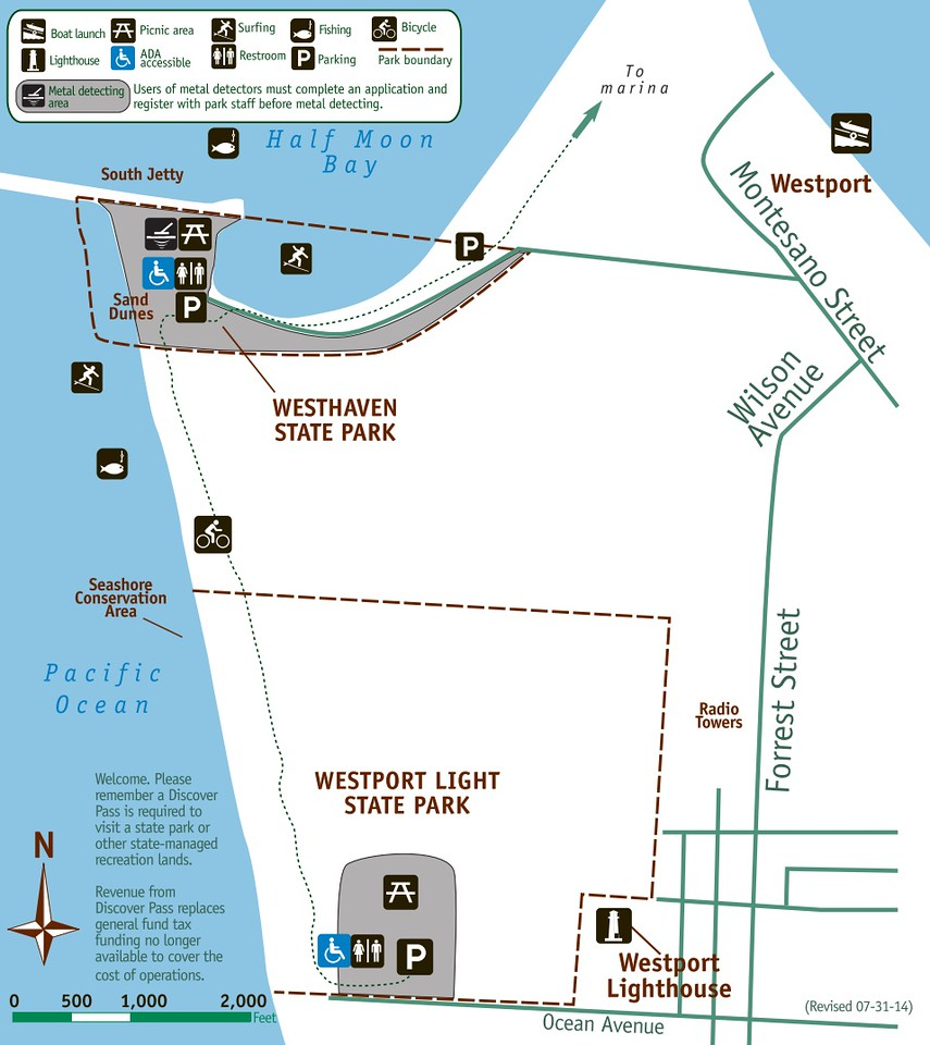 Westhaven & Westport Light State Parks