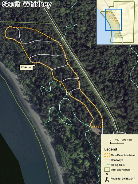 South Whidbey State Park (Metal Detection Areas)