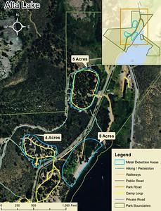 Alta Lake State Park (Metal Detection Areas)