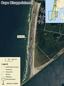 Cape Disappointment State Park (Metal Detection Areas)