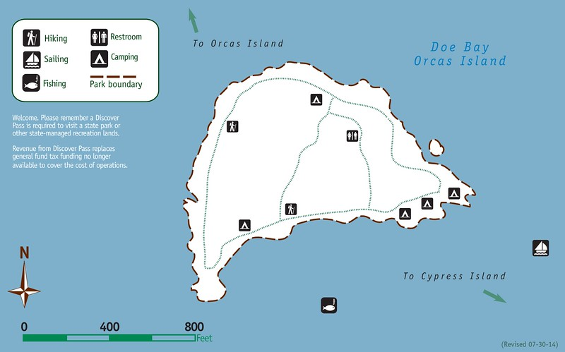 Doe Island Marine State Park