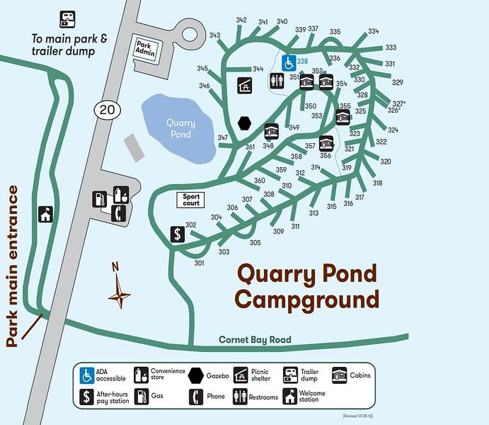 Deception Pass State Park (Quarry Pond Campground)