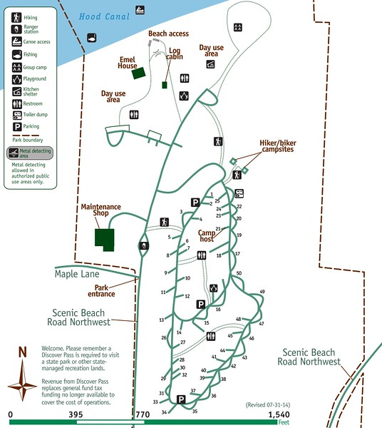 Scenic Beach State Park