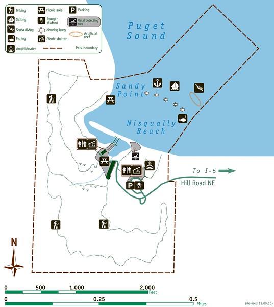 Tolmie State Park