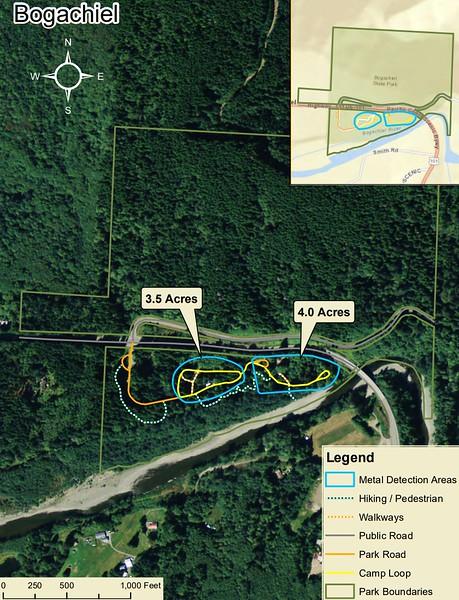 Bogachiel State Park (Metal Detection Areas)