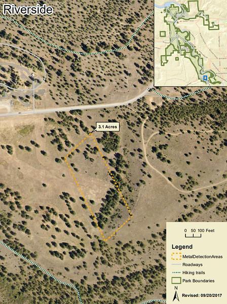 Riverside State Park (Metal Detection Areas)