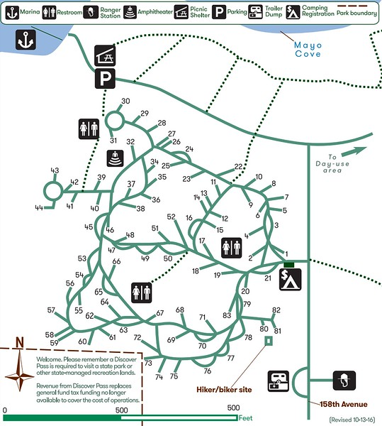 Penrose Point State Park (Campground Map)