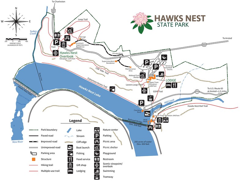 Hawks Nest State Park