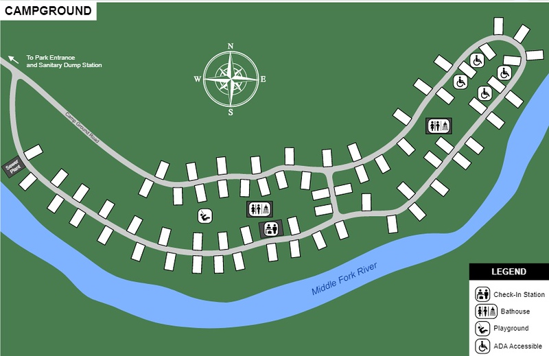 Audra State Park (Campground Map)