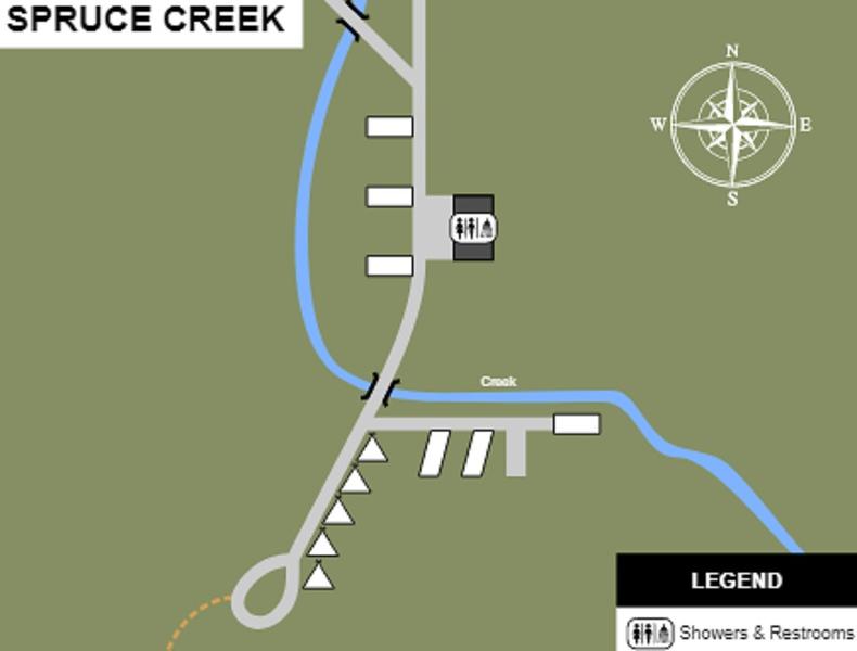 Cabwaylingo State Forest (Spruce Creek Campground)