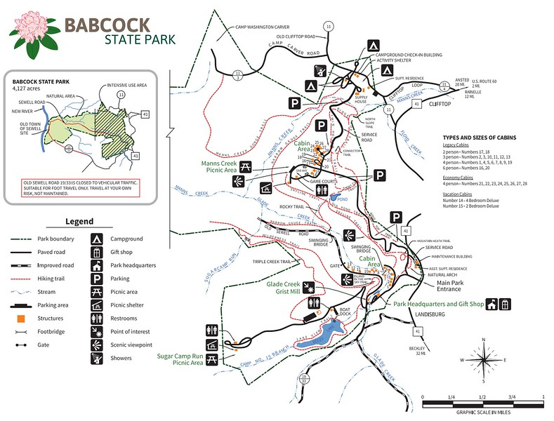 West Virginia State Park Maps - dwhike