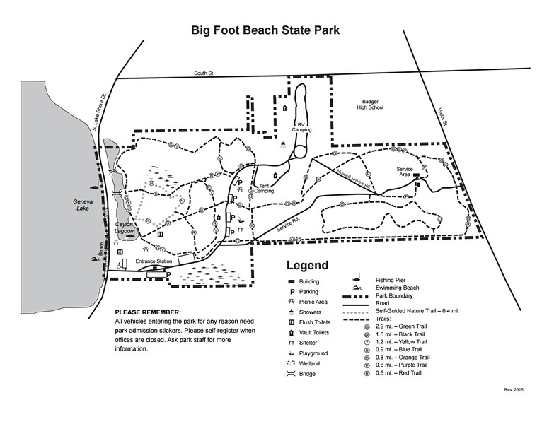 Big Foot Beach State Park
