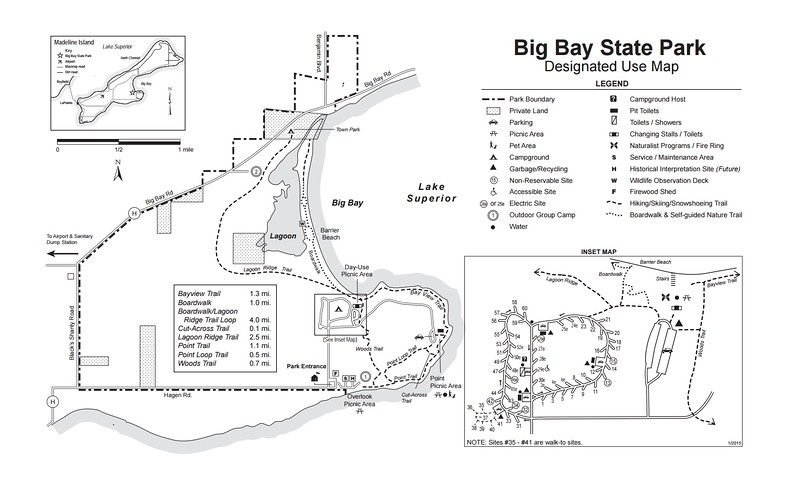 Wisconsin State Park Maps - dwhike