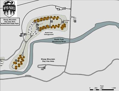 Buffalo Bill State Park (Sheep Mountain Day Use Area)