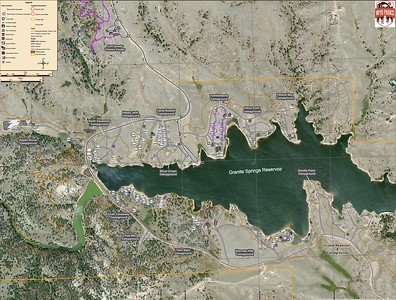 Curt Gowdy State Park (Granite Springs Reservoir Campgrounds)