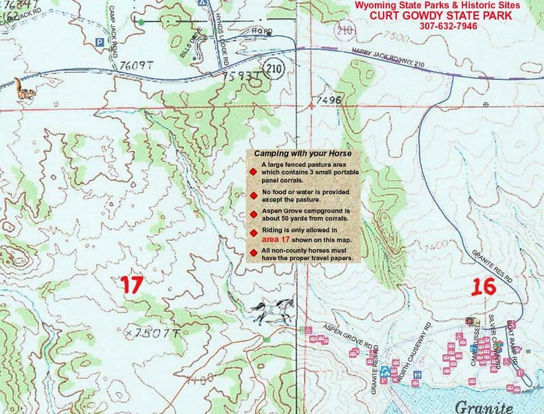 Curt Gowdy State Park (Equestrian Campgrounds)