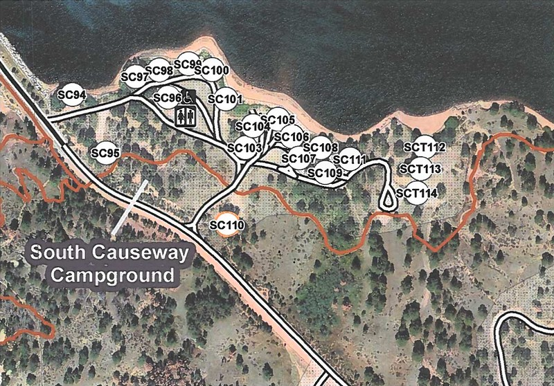 Curt Gowdy State Park (South Causeway Campground)