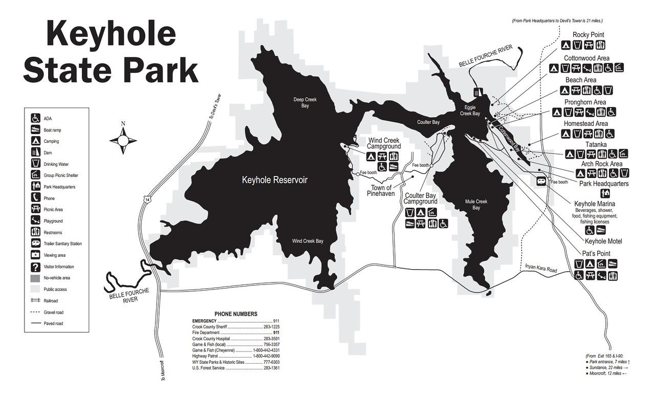 Keyhole State Park