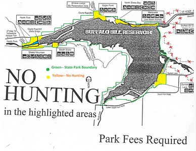 Buffalo Bill State Park (No Hunting Map)