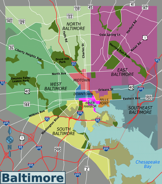 Baltimore districts