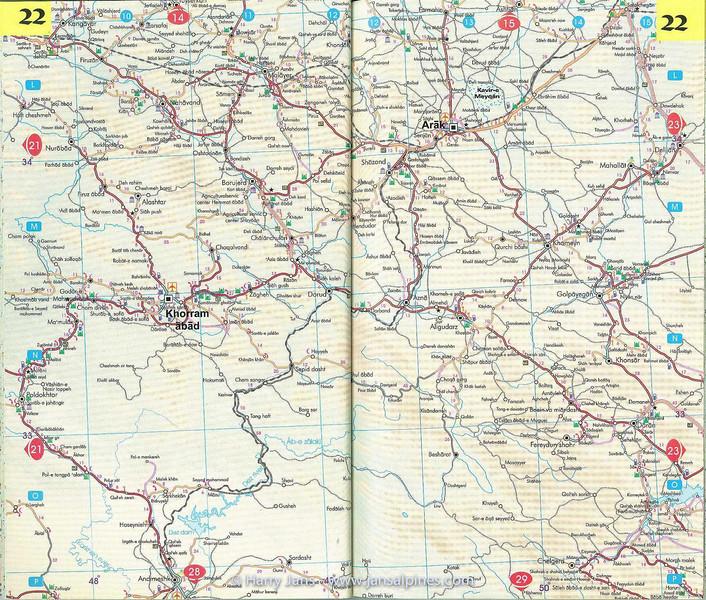 Iran Road Atlas
