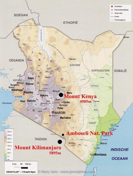 Kenya - Mount Kenya