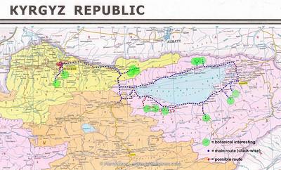 Kyrgyzstan route 2012 small