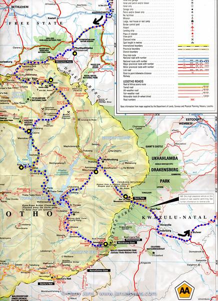Lesotho route 4 0