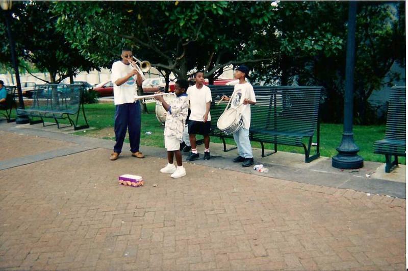 Street Band on Riverwalk