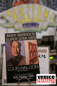 02 13 09  THE GRIND GALLERY PRESENTS LOUIS WALDEN ANDY WARHOL'S SUPERSTAR YEARS  Photo by Venice Paparazzi   THE GRIND GALLERY 12222 Venice Blvd   www thegrindgallery com www venicegrind com (9)