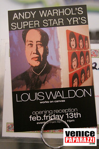 02 13 09  THE GRIND GALLERY PRESENTS LOUIS WALDEN ANDY WARHOL'S SUPERSTAR YEARS  Photo by Venice Paparazzi   THE GRIND GALLERY 12222 Venice Blvd   www thegrindgallery com www venicegrind com (7)