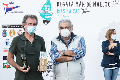 Regata Mar de Maeloc Rías Baixas, 2020.
