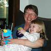 Mara and Grandma, June 2006
